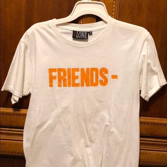 7afc3dd1 Vlone shirts white tee poshmark jpg 580x580 Vlone chiraq tee